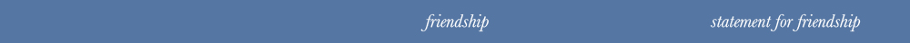 friendship title
